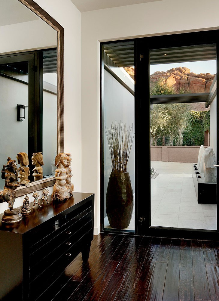 Glass Entry Door